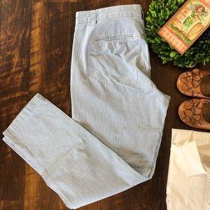 GAP Broken-In Straight Leg Khaki Pants